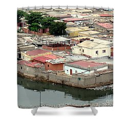 Slum In Luanda, Angola Shower Curtain