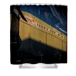 Shower Curtain featuring the photograph Sma Ssorc Der As by Paul Job