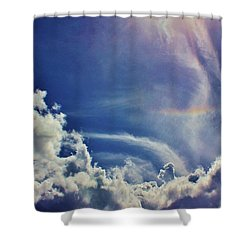 Shower Curtain featuring the photograph Small Blessing In The Sky by Craig Wood