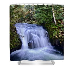 Small Cascade Shower Curtain