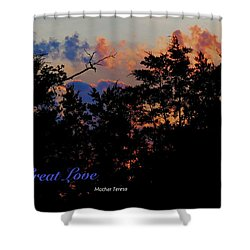 Shower Curtain featuring the photograph Small Counts by David Norman