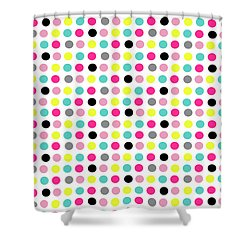 Small Dots Shower Curtain