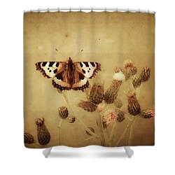 Small Tortoiseshell Shower Curtain