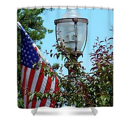 Small Town Anywhere Usa Shower Curtain