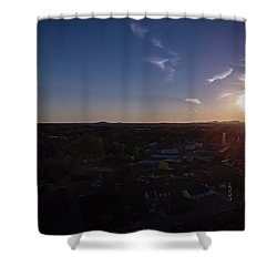 Small Town Sun Shower Curtain