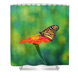 Shower Curtain featuring the photograph Small Wonders by Byron Varvarigos