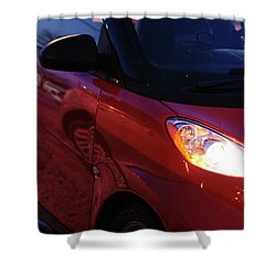 Smart Shower Curtain by Linda Shafer