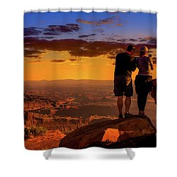 Smartphone Photo Opportunity Shower Curtain