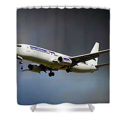 Smartwings Boeing 737-900er Shower Curtain