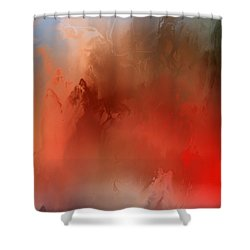 Wicked Worm Shower Curtain