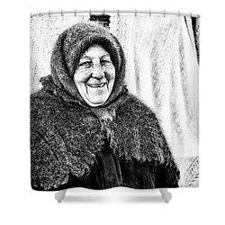 Shower Curtain featuring the photograph Smiler by John Williams