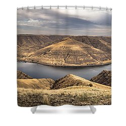 Smiling River Shower Curtain