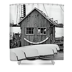 Smiling Shack Shower Curtain