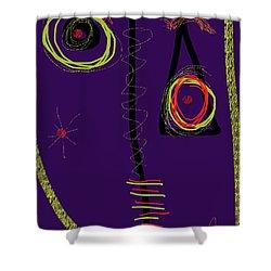 Smiro For Roland Hassanein Shower Curtain