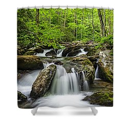 Smith Creek, Springtime Shower Curtain