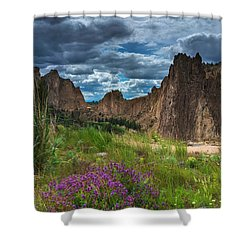 Smith Rock Shower Curtain