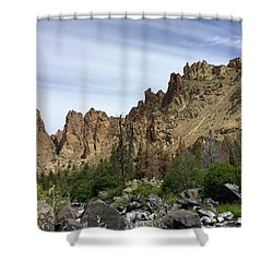 Smith Rocks Shower Curtain