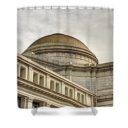 Smithsonial National History Museum Shower Curtain