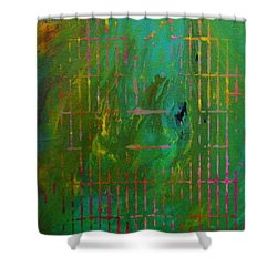 Smog Shower Curtain