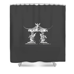 Smok Shower Curtain