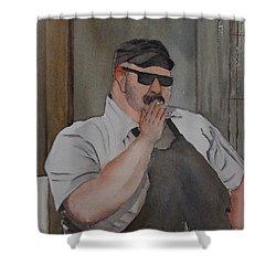 Smoke Break Shower Curtain