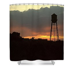Smoke Filled Shower Curtain