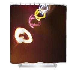 Shower Curtain featuring the photograph Smoke In Colors by Ausra Huntington nee Paulauskaite