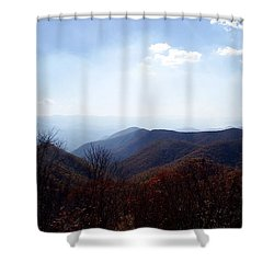 Smoke Of The Smokies Shower Curtain