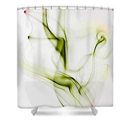 Smoke Wings Shower Curtain