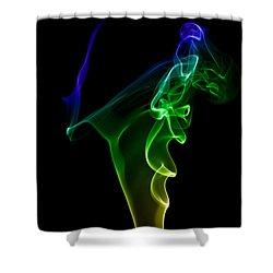 smoke XIV Shower Curtain