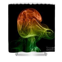 smoke XXVIII Shower Curtain