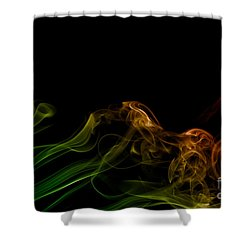 smoke XXXI Shower Curtain
