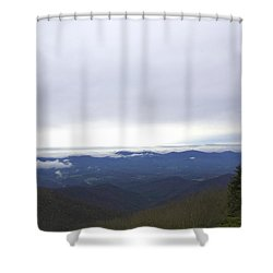 Smokey Mountains 2 Shower Curtain