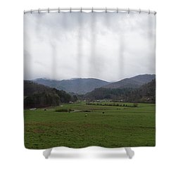 Smokey Mountains 3 Shower Curtain