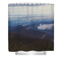 Smokey Mountains 5 Shower Curtain