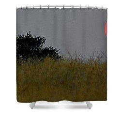 Smokey Sunset Shower Curtain