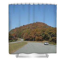 Smokies 10 Shower Curtain by Val Oconnor