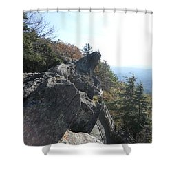 Smokies 18 Shower Curtain by Val Oconnor