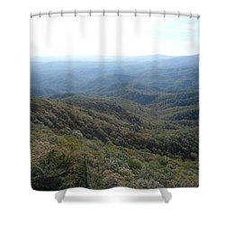 Smokies 20 Shower Curtain by Val Oconnor