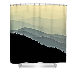 Smokies Shower Curtain