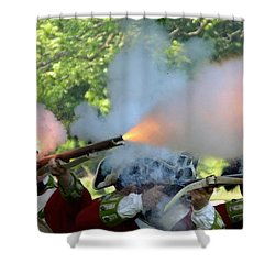 Smoking Guns Shower Curtain