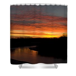 Smoky Hill Beauty Shower Curtain