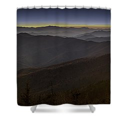 Smoky Shower Curtain