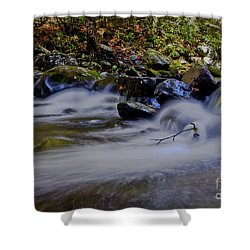 Shower Curtain featuring the photograph Smoky Mountain Stream by Douglas Stucky