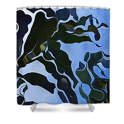 Smooth Bamboos Shower Curtain
