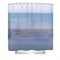 Smooth Ocean Shower Curtain
