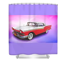 Smooth Rider Shower Curtain
