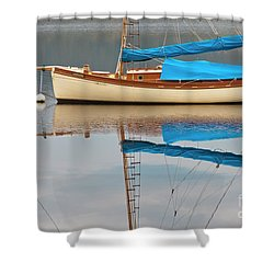 Shower Curtain featuring the photograph Smooth Sailing by Werner Padarin