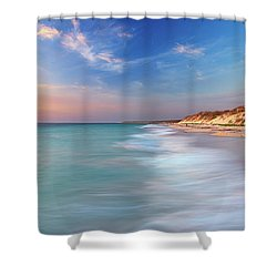 Smooth Waters, Quinns Rocks, Perth Shower Curtain