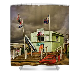 Snack Shack Shower Curtain